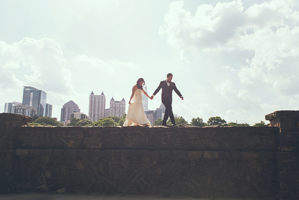Atlanta Wedding Photographer Joyelan Top Wedding Photographer Piedmont Park