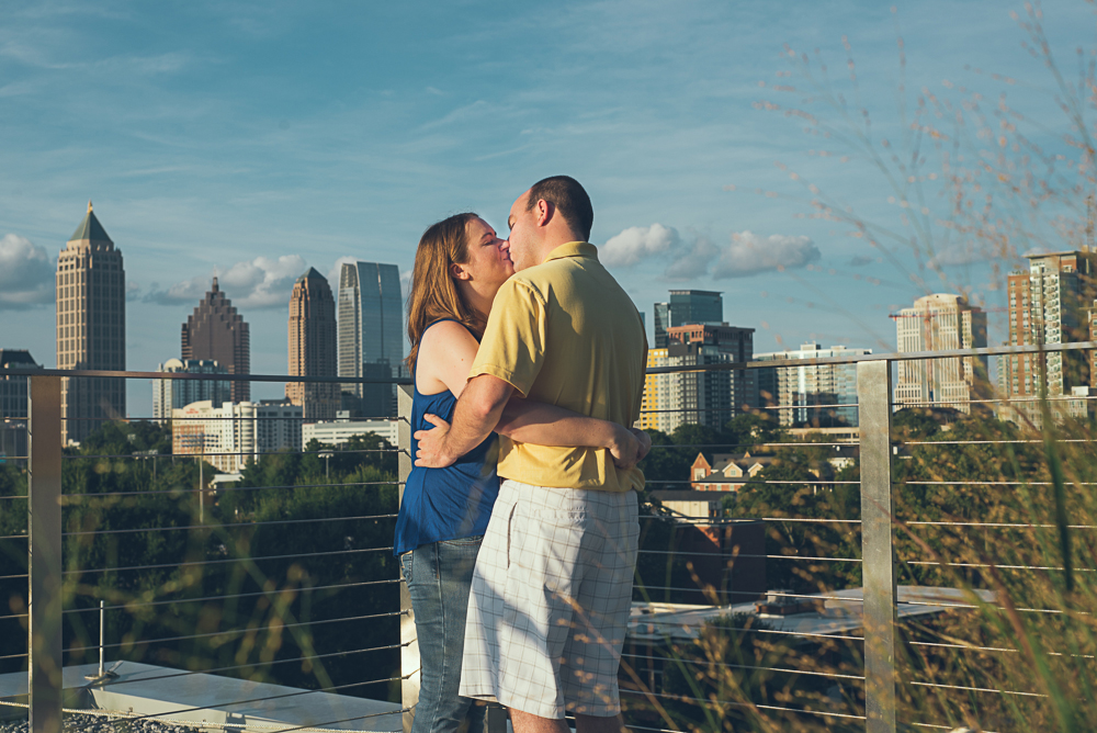 Atlanta Engagement Session Georgia Tech