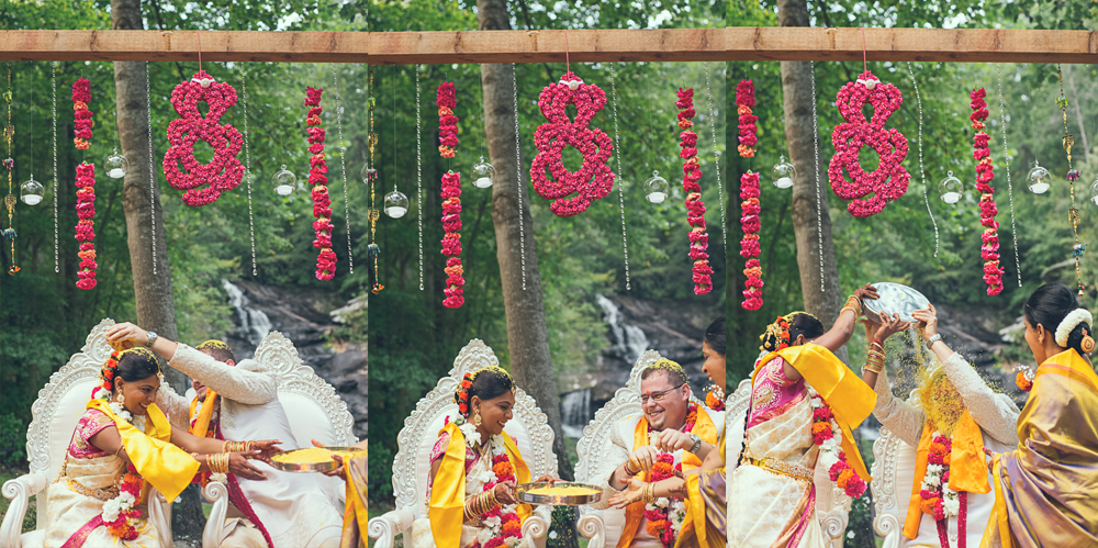 Atlanta Indian Wedding Photographer High Tower Falls