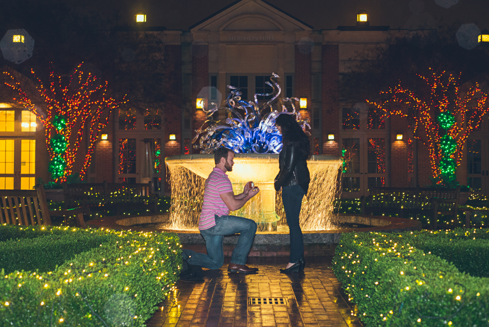 Atlanta Wedding Photographer | Www.Joyelan.com | Atlanta Botanical Gardens  Proposal