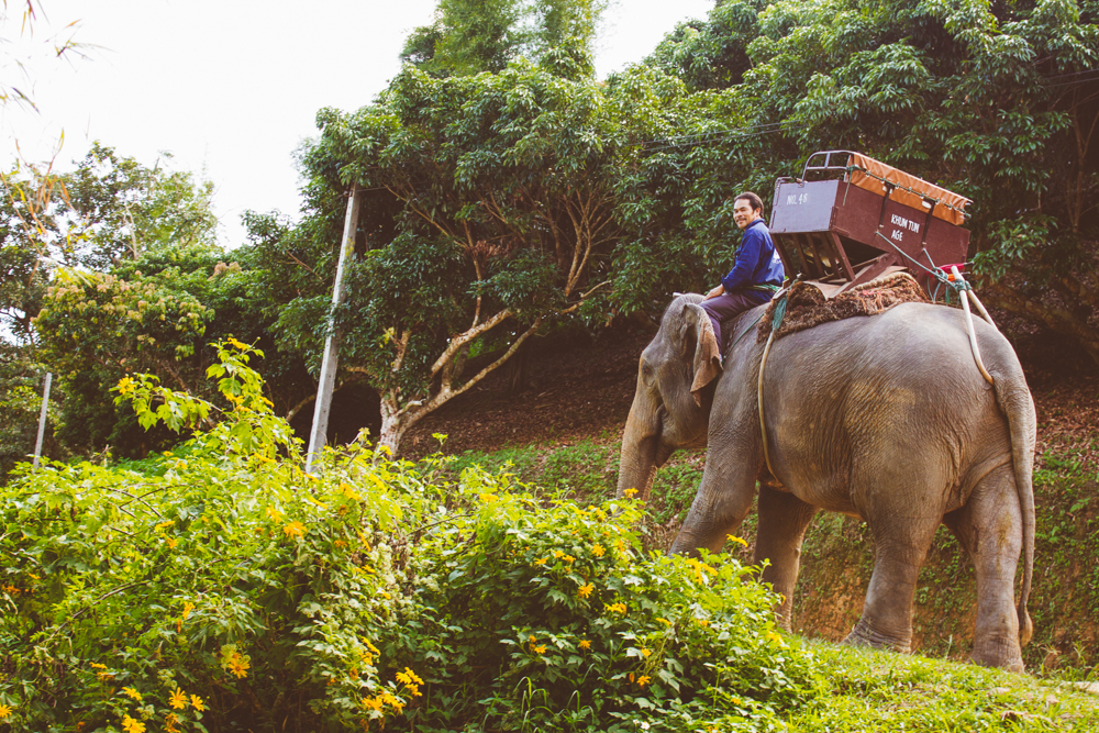 Travel photography Chiang Mai Thiland Elephants and Karen Village