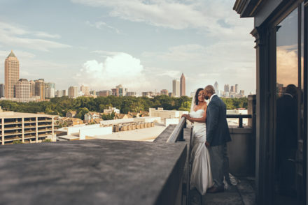 Atlanta Wedding Photographer | Joyelan | Millennium Gate Museum