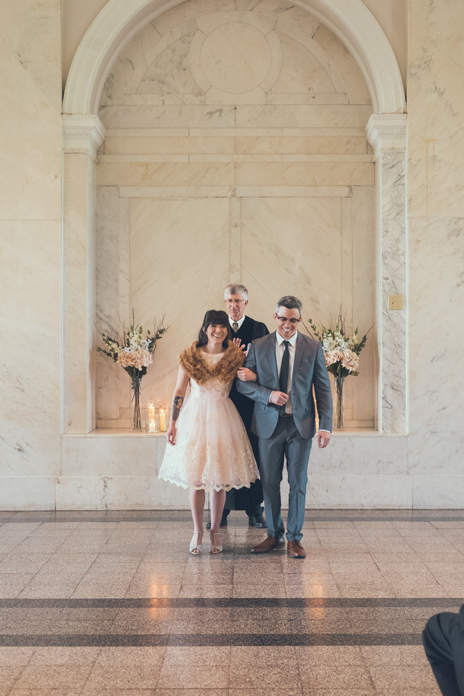 Atlanta courthouse wedding
