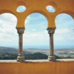 Sintra overlooking the beautiful Portuguese landscape  Travel Photography
